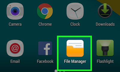 restore android missing photos from file manager
