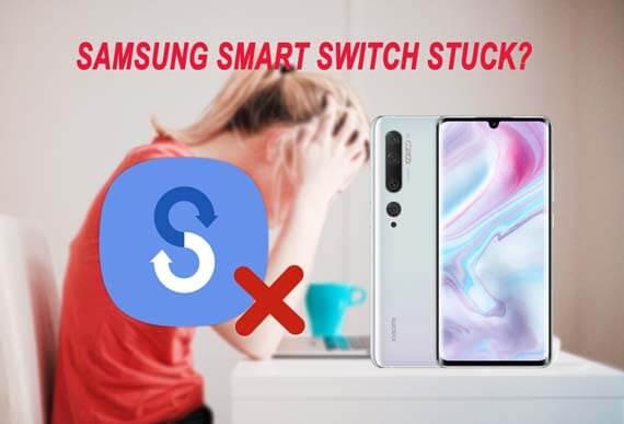 samsung smart switch stuck