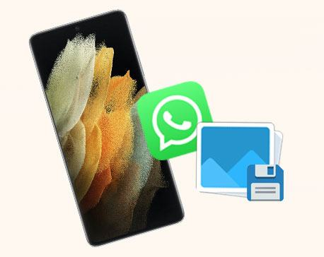 how to save whatsapp photos on android