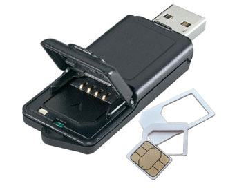 reset a sim card with the card reader