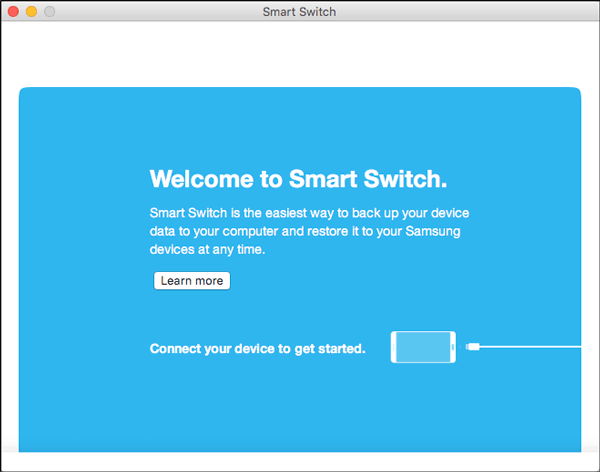 connect samsung phone to mac with smart switch