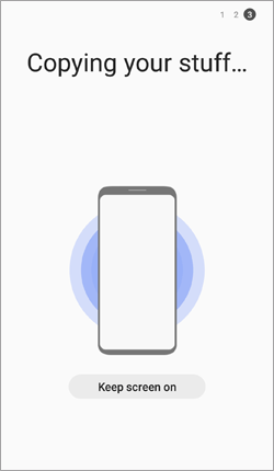 transfer sms from samsung to samsung