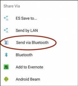 transfer apps from samsung to samsung via bluetooth
