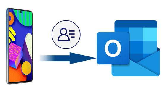 how to transfer contacts from android to outlook