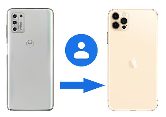transfer contacts from motorola to iphone