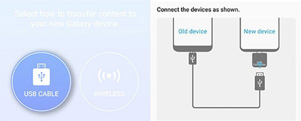 transmit files from iphone to samsung