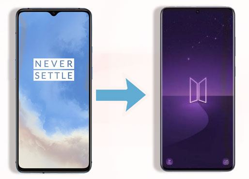 transfer data from oneplus to samsung