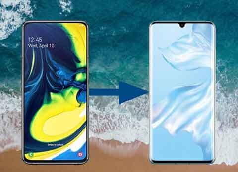 transfer data from samsung to huawei