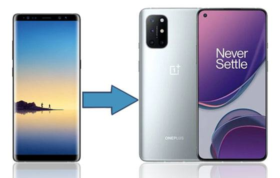 how to transfer data from samsung to oneplus
