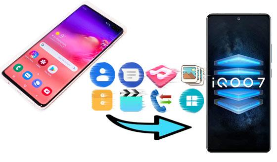 how to transfer data from samsung to vivo