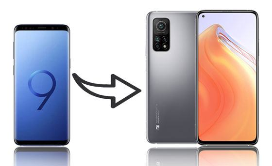 how to transfer data from samsung to xiaomi phone