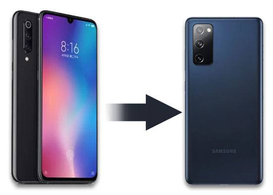 transfer data from xiaomi to samsung