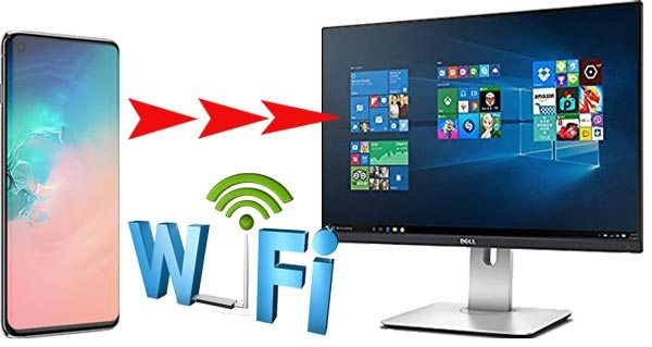 transfer files from android to pc via wifi