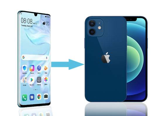 transfer from huawei to iphone