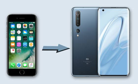transfer iphone data to xiaomi