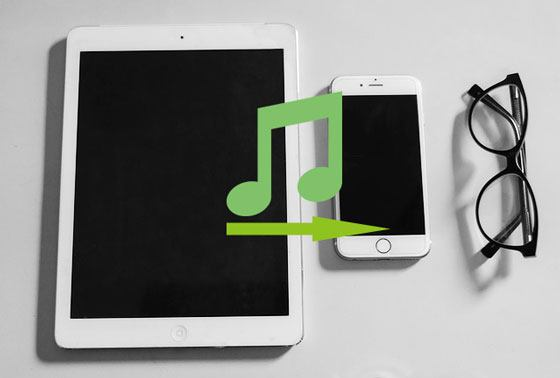 how to transfer music from ipad to iphone