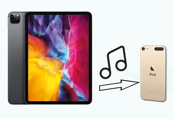 how to transfer music from ipad to ipod
