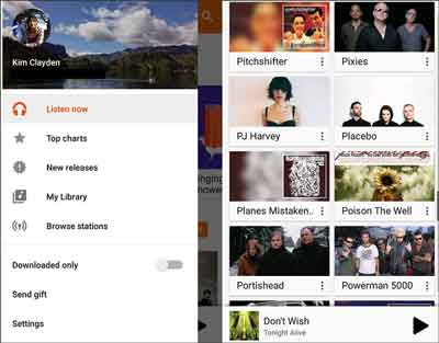 transfer music from iphone to android tablet by google music manager