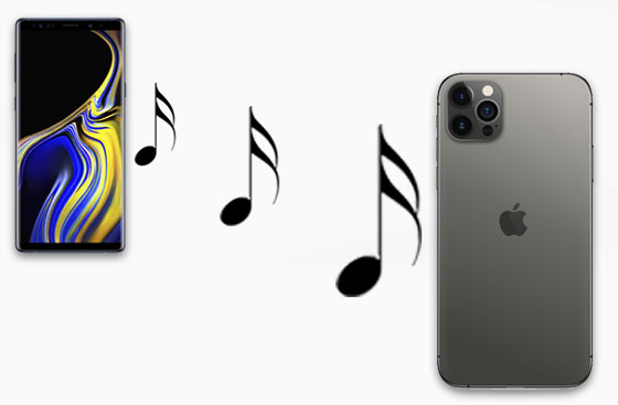 how to transfer music from samsung to iphone