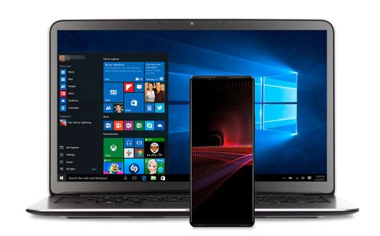 how to transfer photos from android to pc windows 10