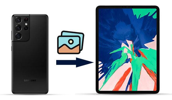 how to transfer photos from samsung phone to ipad