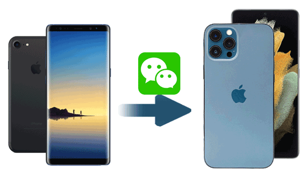 how to transfer wechat history to new phone