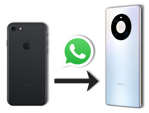how to transfer whatsapp from iphone to huawei