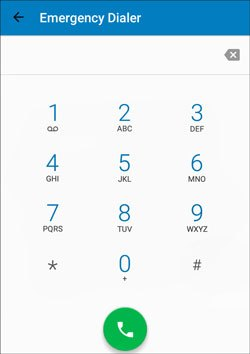 bypass lock code on lg phone with emergency calls
