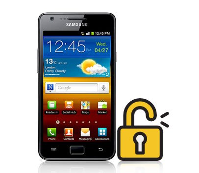 how to unlock a samsung galaxy s2