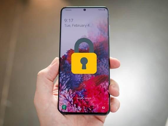 how to unlock samsung phone forgot password