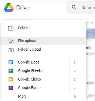 transfer files to samsung galaxy tab via google drive