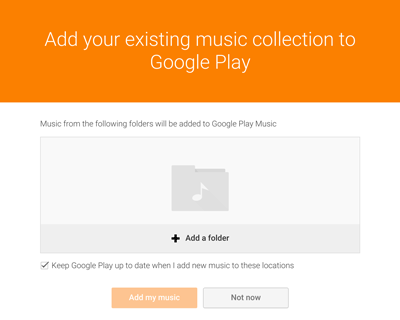 upload music to google play music