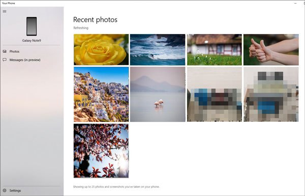 transfer photos from android to pc via your phone software